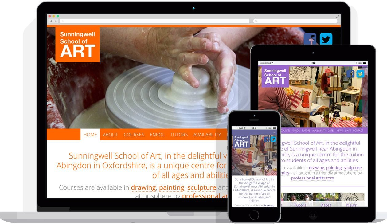 by Hello Design for Sunningwell School of Art