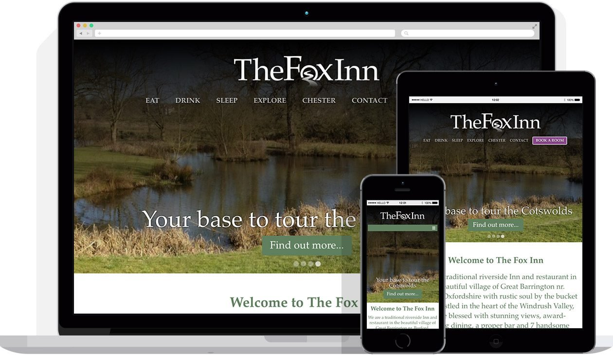by Hello Design for The Fox Inn