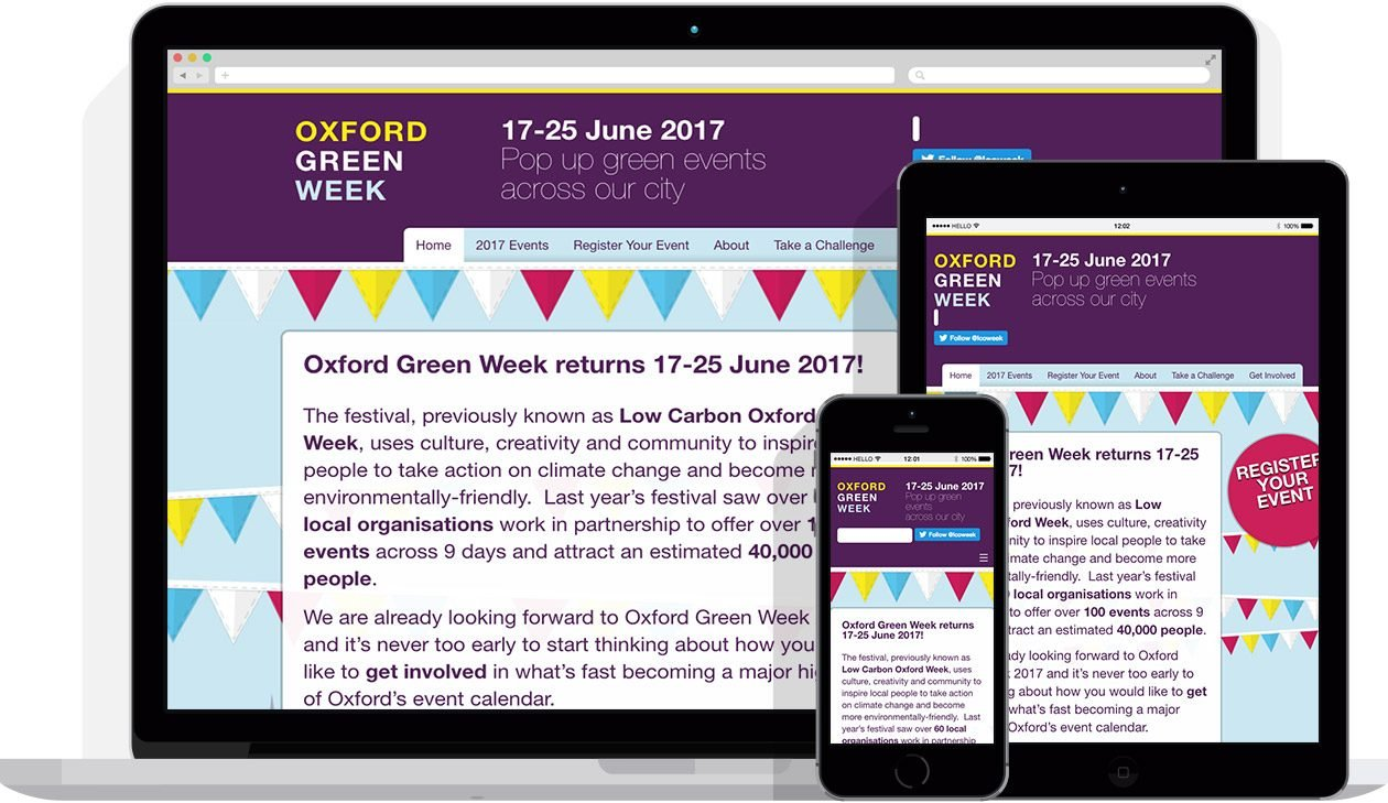 by Hello Design for Oxford Green Week